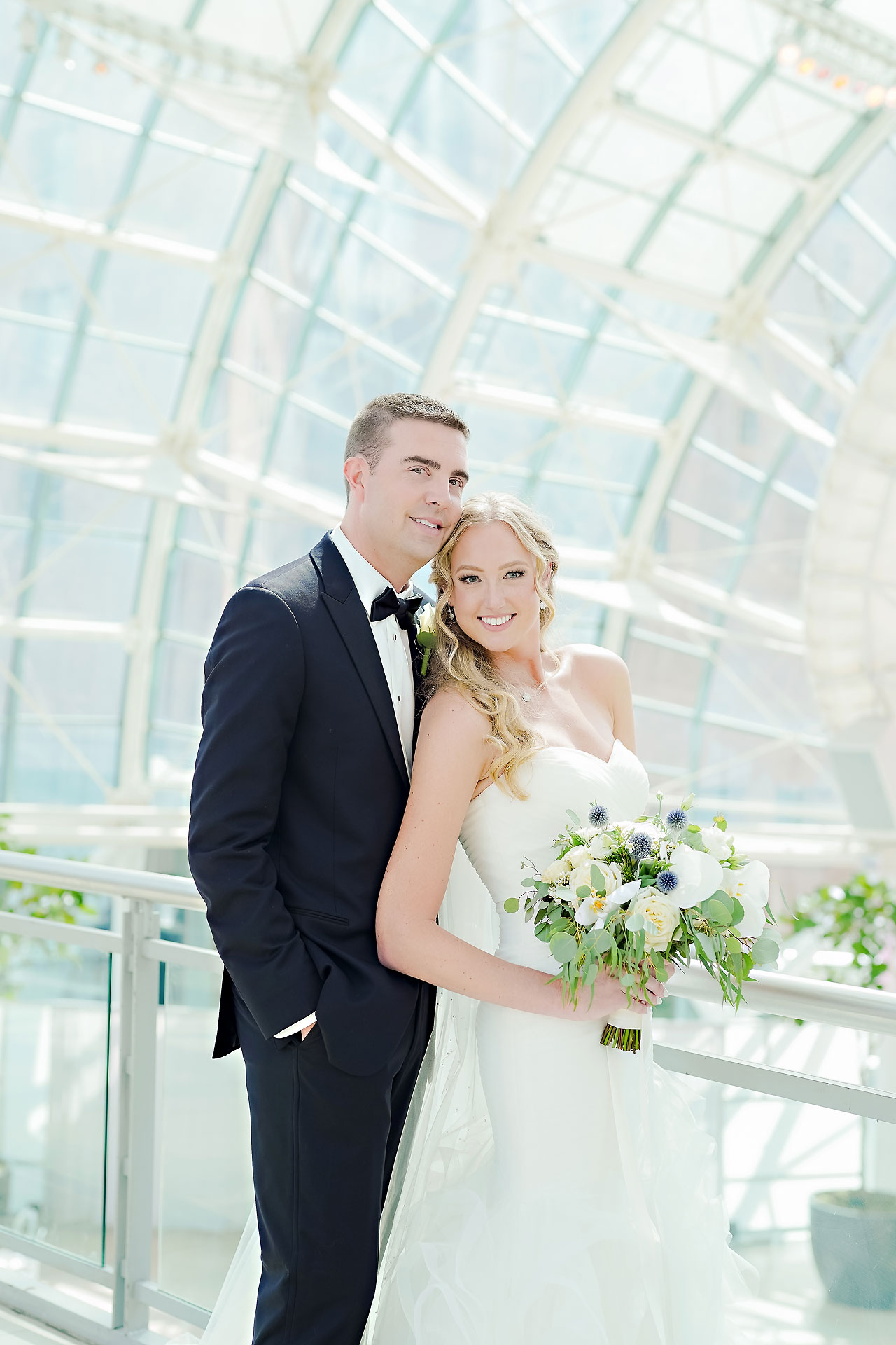 Liz Zach Conrad Artsgarden Indianapolis Wedding 179