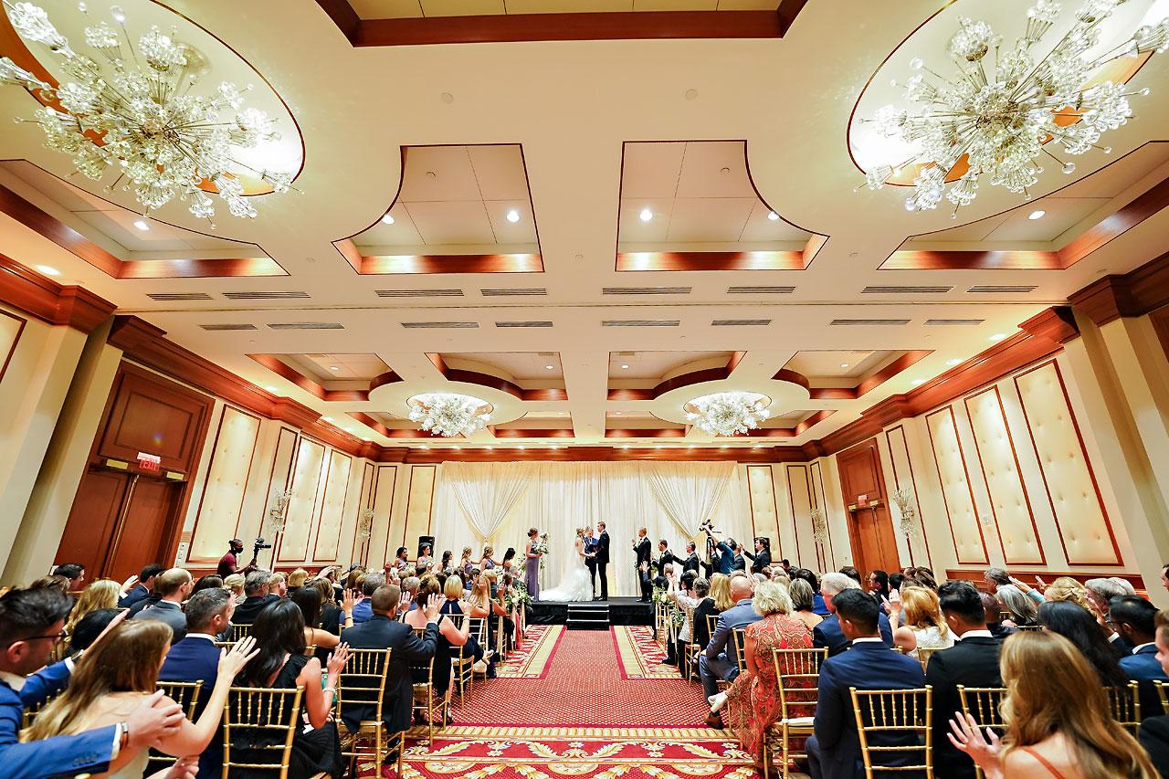 Liz Zach Conrad Artsgarden Indianapolis Wedding 195
