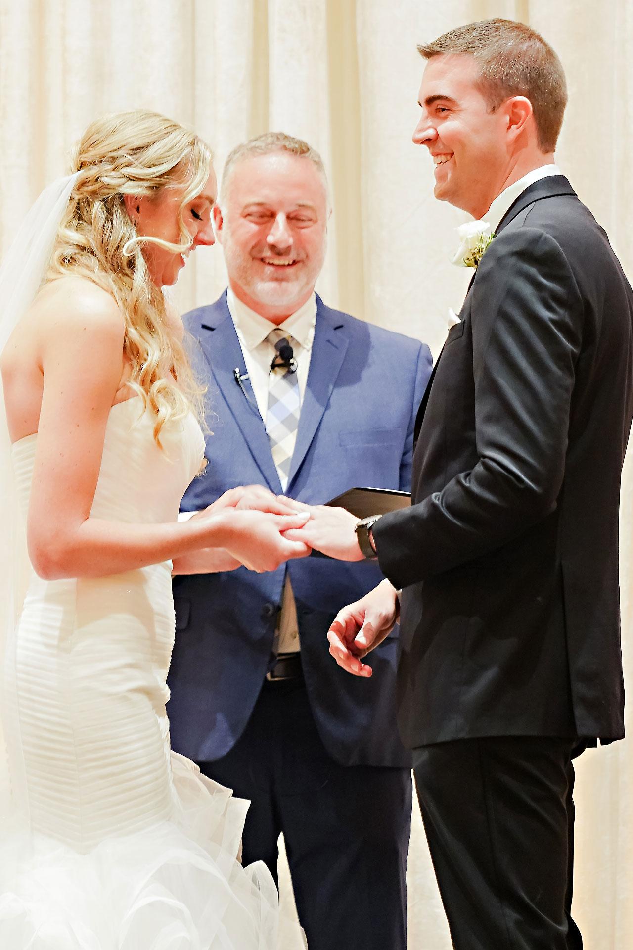 Liz Zach Conrad Artsgarden Indianapolis Wedding 197