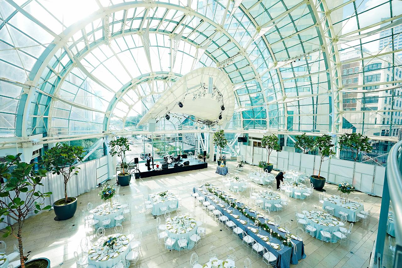 Liz Zach Conrad Artsgarden Indianapolis Wedding 216
