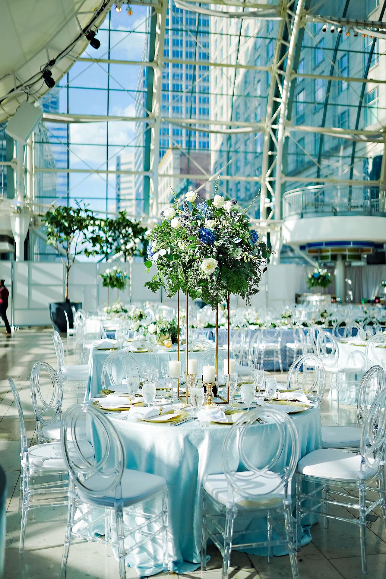 Liz Zach Conrad Artsgarden Indianapolis Wedding 227