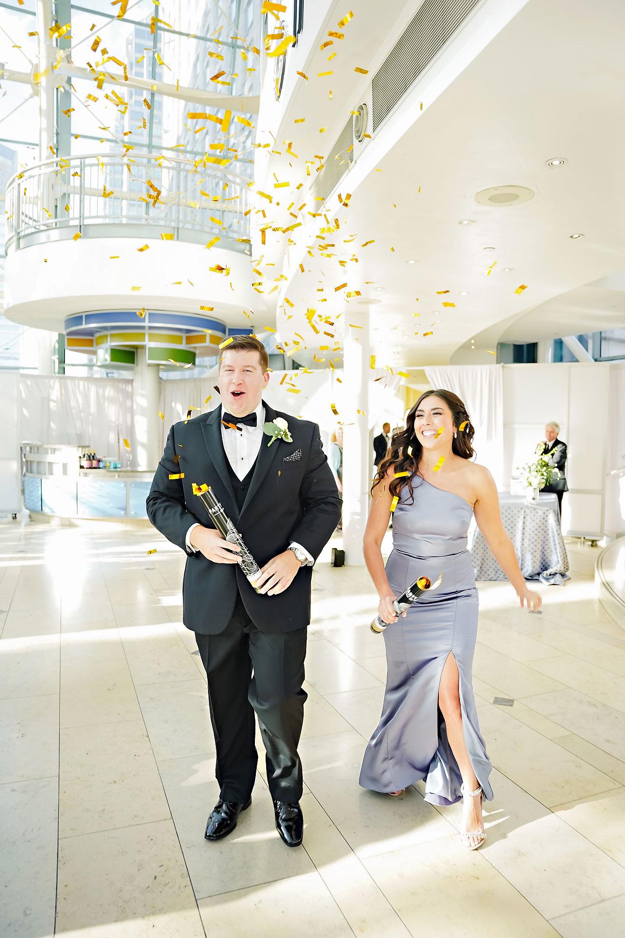 Liz Zach Conrad Artsgarden Indianapolis Wedding 232
