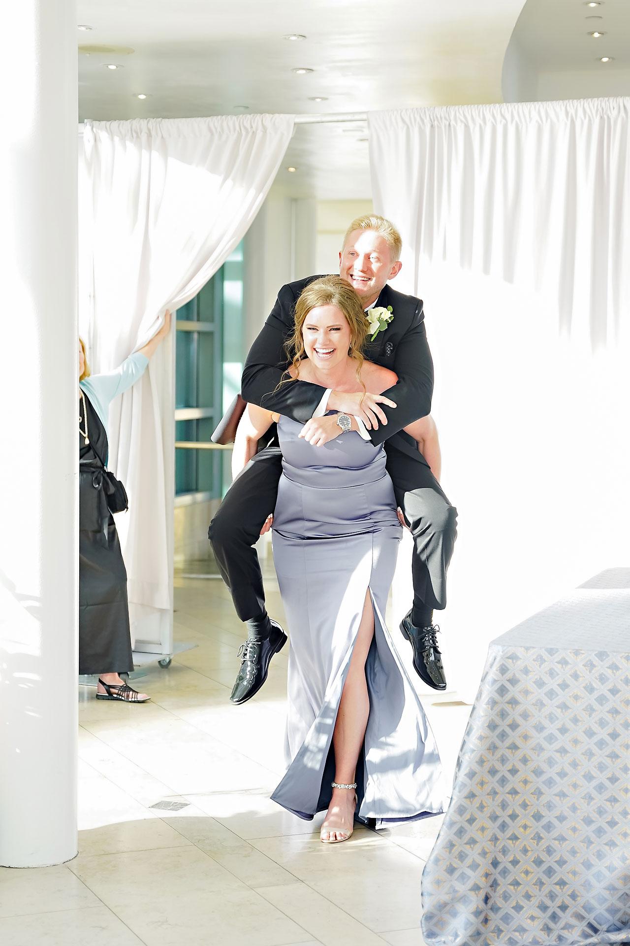 Liz Zach Conrad Artsgarden Indianapolis Wedding 233