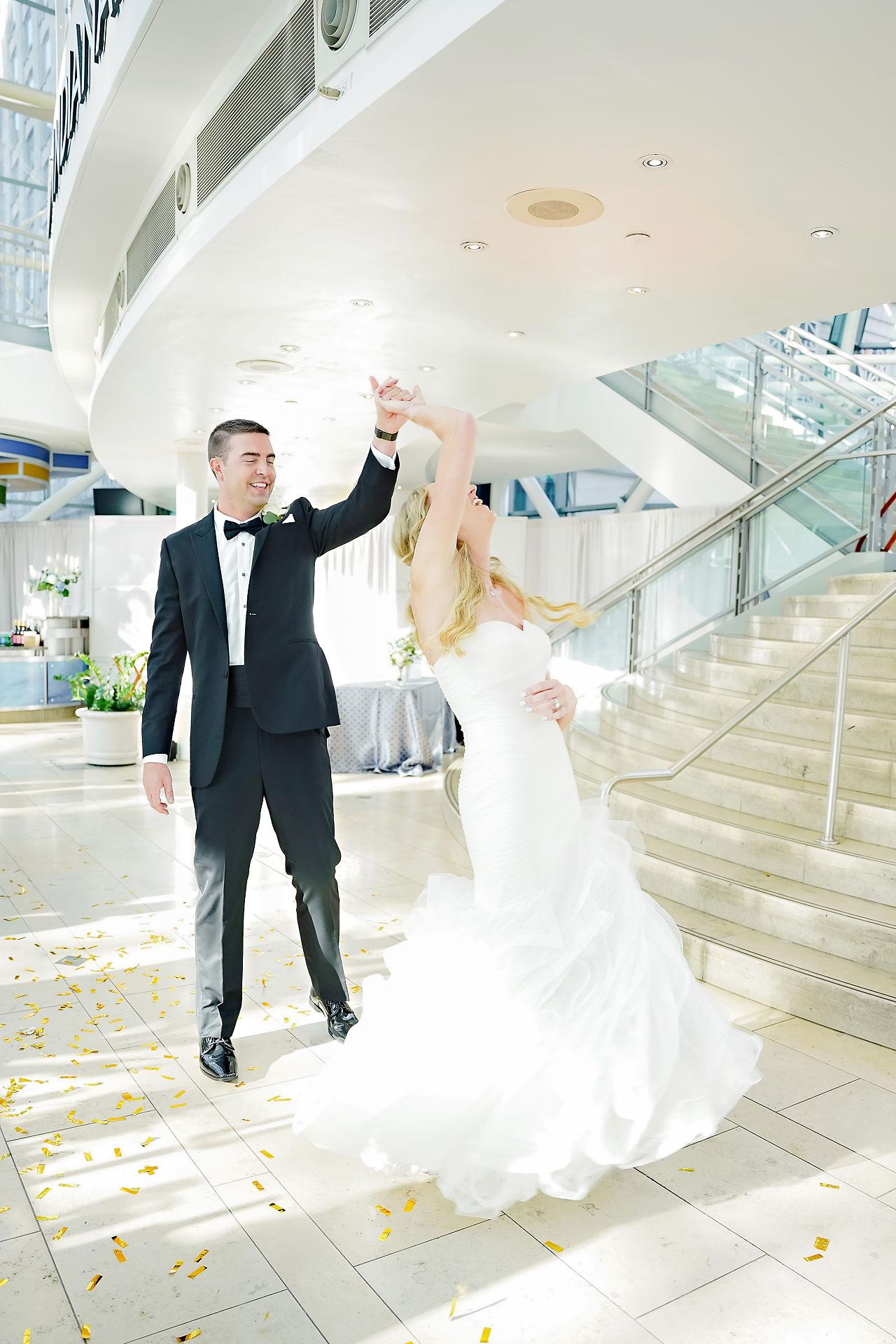 Liz Zach Conrad Artsgarden Indianapolis Wedding 234