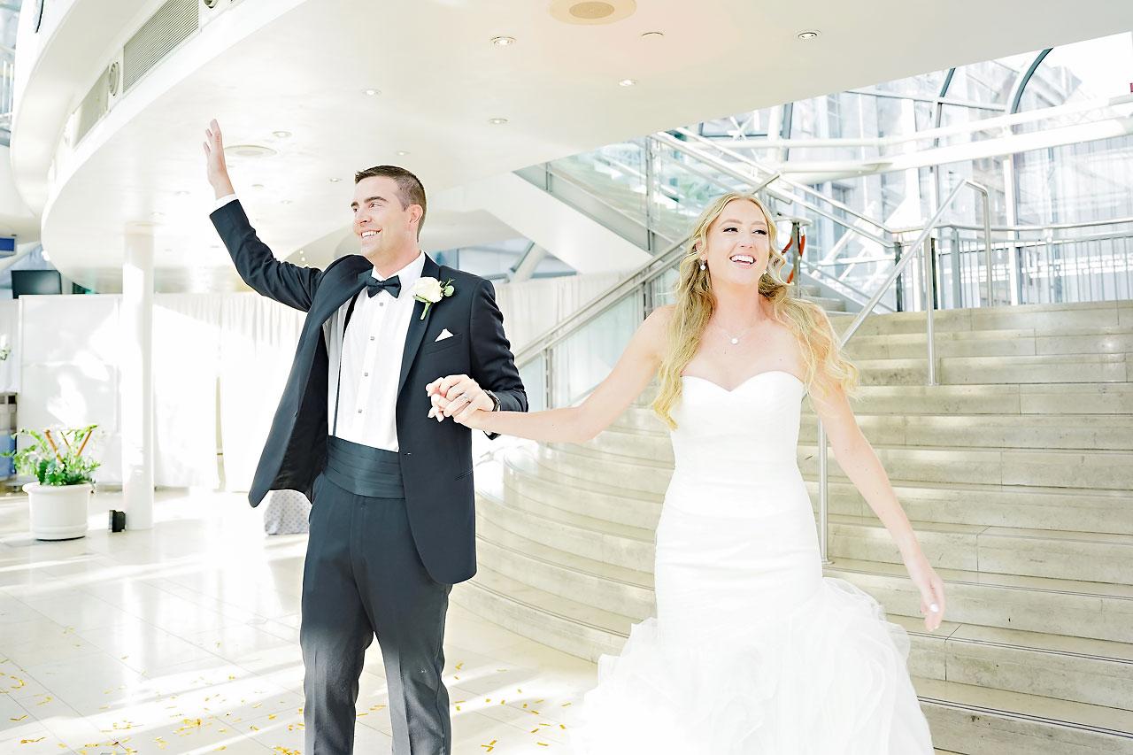 Liz Zach Conrad Artsgarden Indianapolis Wedding 235