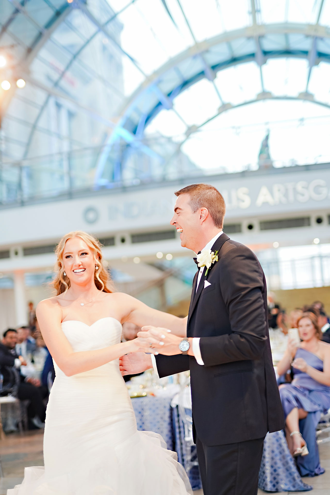 Liz Zach Conrad Artsgarden Indianapolis Wedding 260