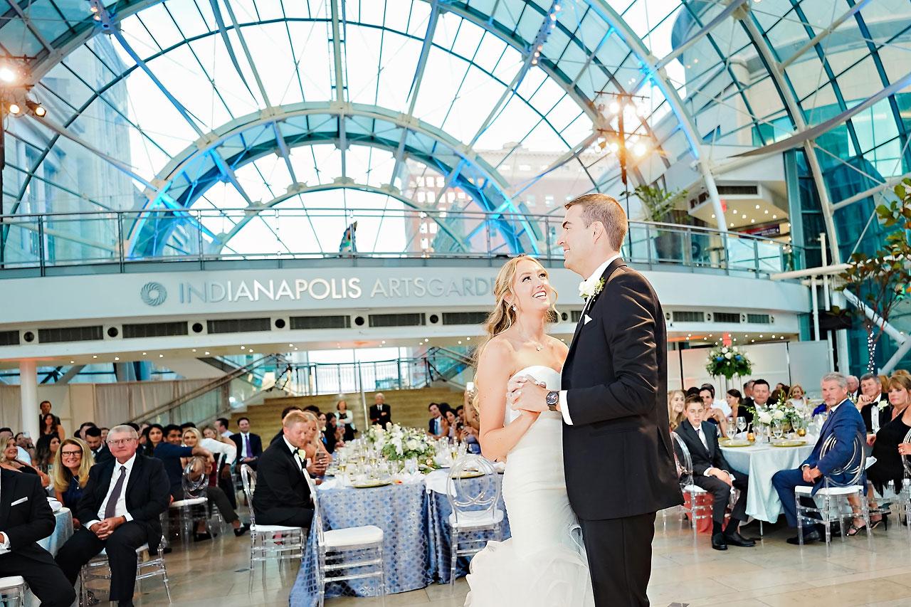 Liz Zach Conrad Artsgarden Indianapolis Wedding 262