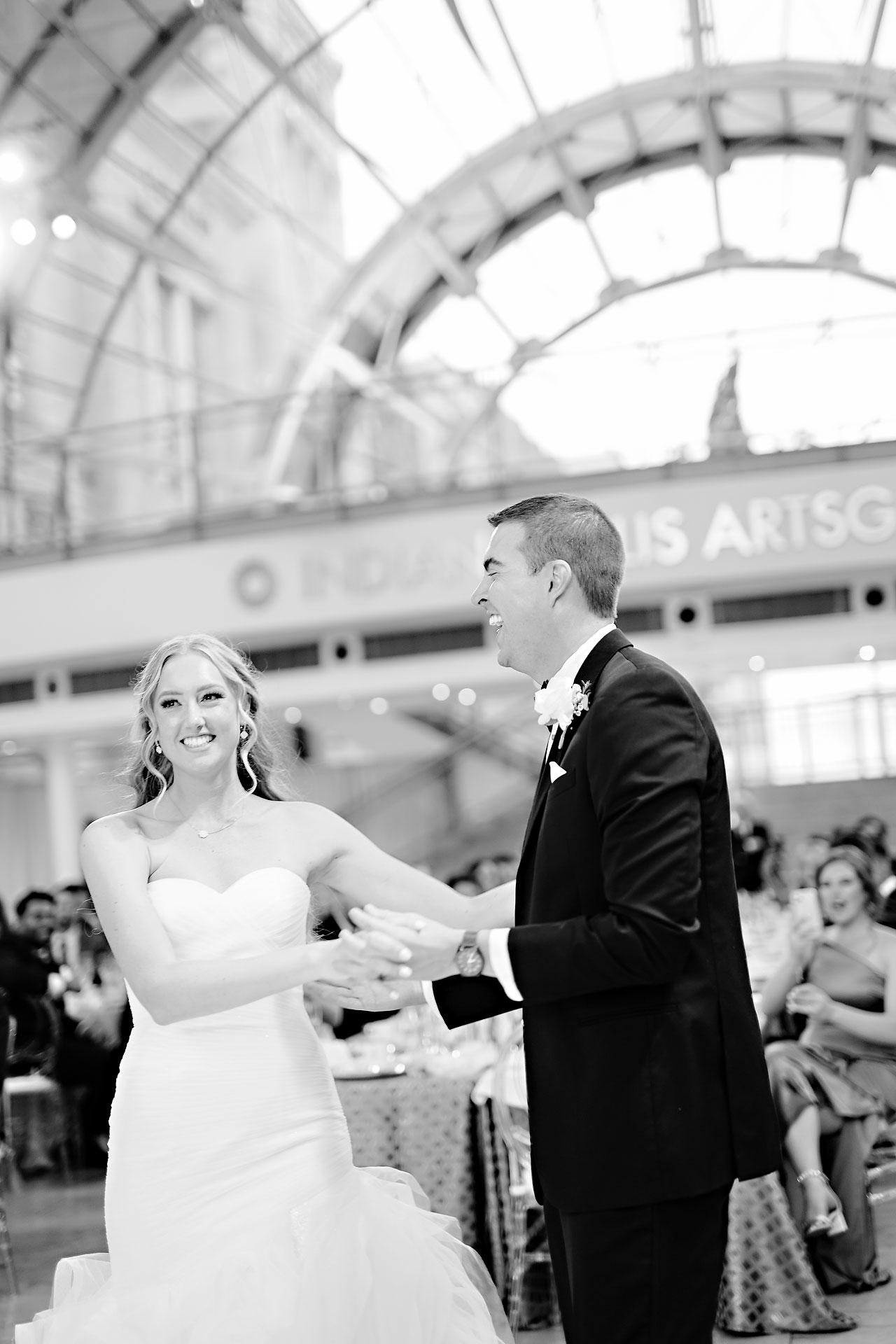 Liz Zach Conrad Artsgarden Indianapolis Wedding 263