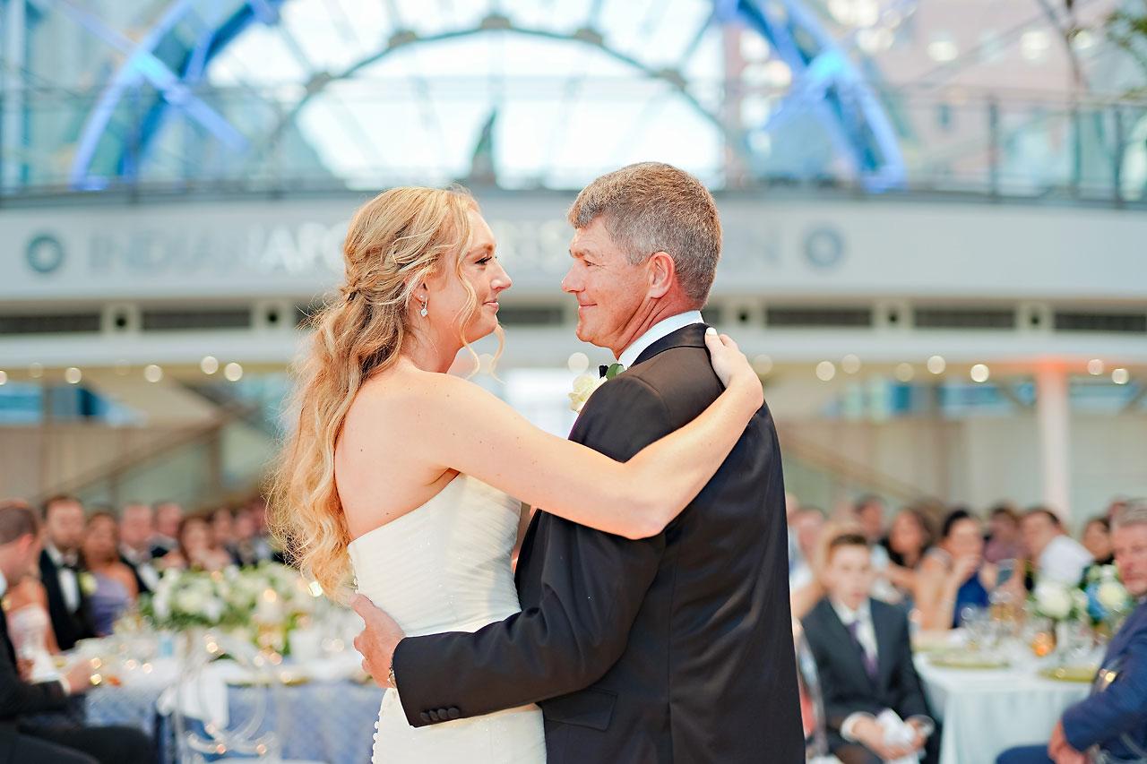 Liz Zach Conrad Artsgarden Indianapolis Wedding 264