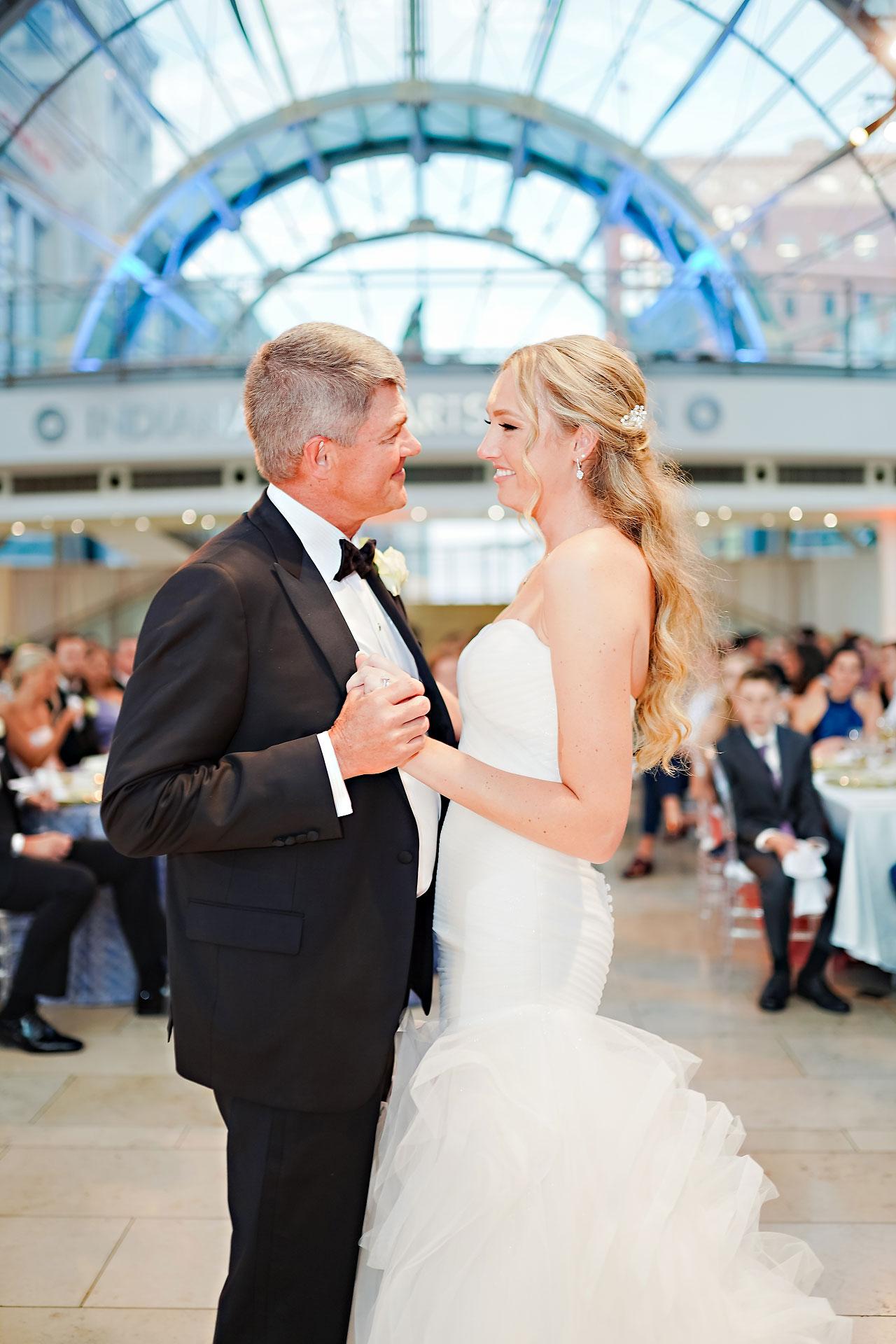 Liz Zach Conrad Artsgarden Indianapolis Wedding 266