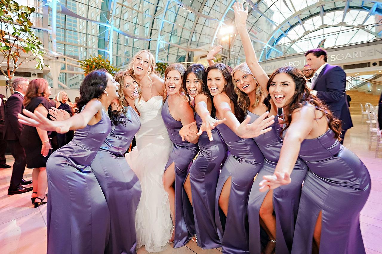 Liz Zach Conrad Artsgarden Indianapolis Wedding 274