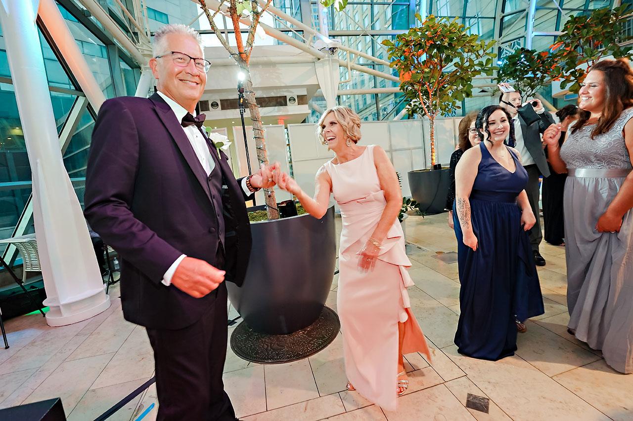Liz Zach Conrad Artsgarden Indianapolis Wedding 275