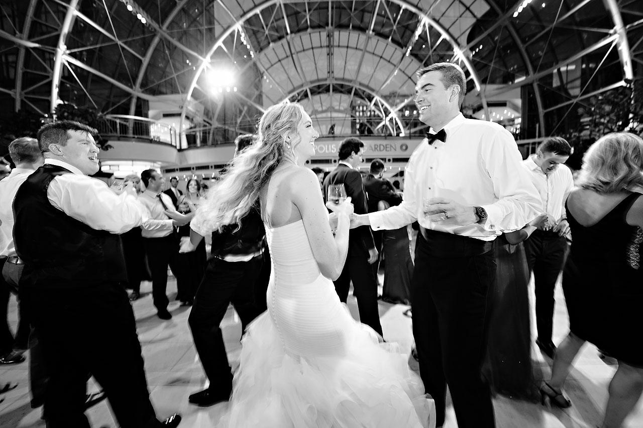 Liz Zach Conrad Artsgarden Indianapolis Wedding 276
