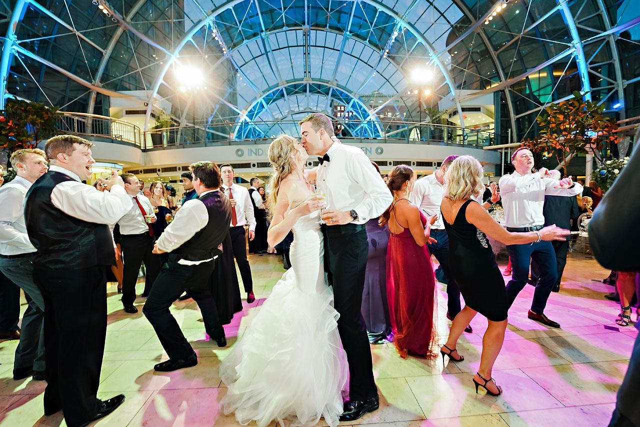 Liz Zach Conrad Artsgarden Indianapolis Wedding 280