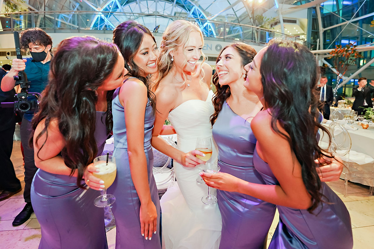 Liz Zach Conrad Artsgarden Indianapolis Wedding 281
