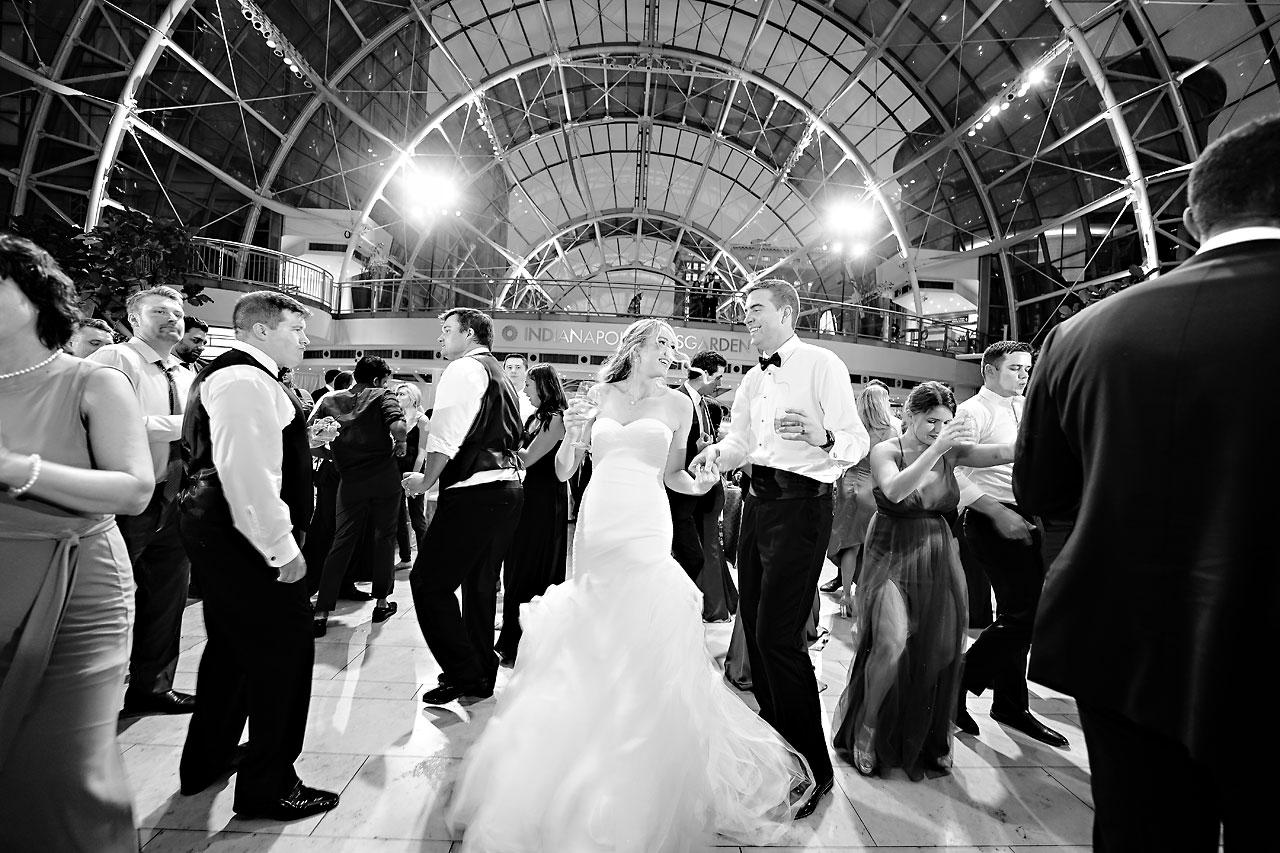 Liz Zach Conrad Artsgarden Indianapolis Wedding 289