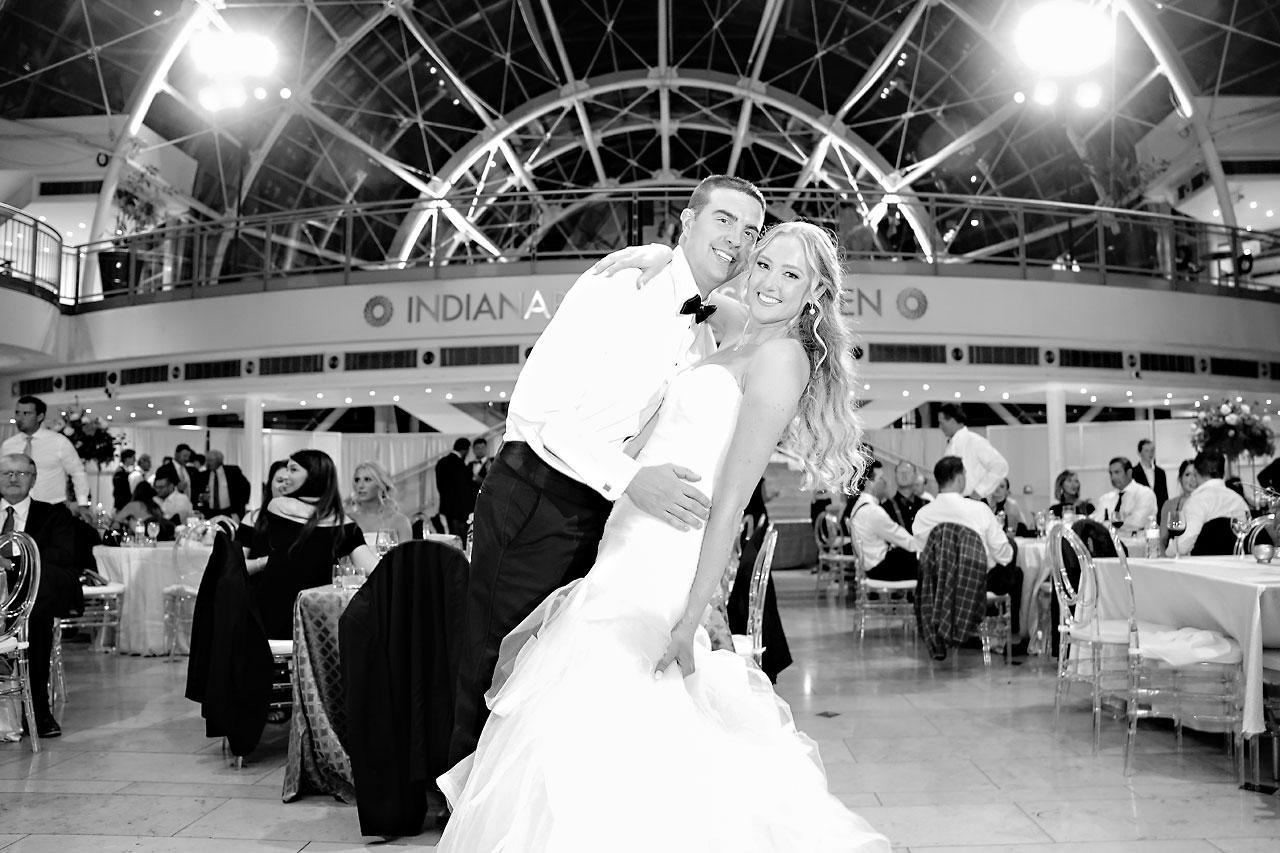 Liz Zach Conrad Artsgarden Indianapolis Wedding 294