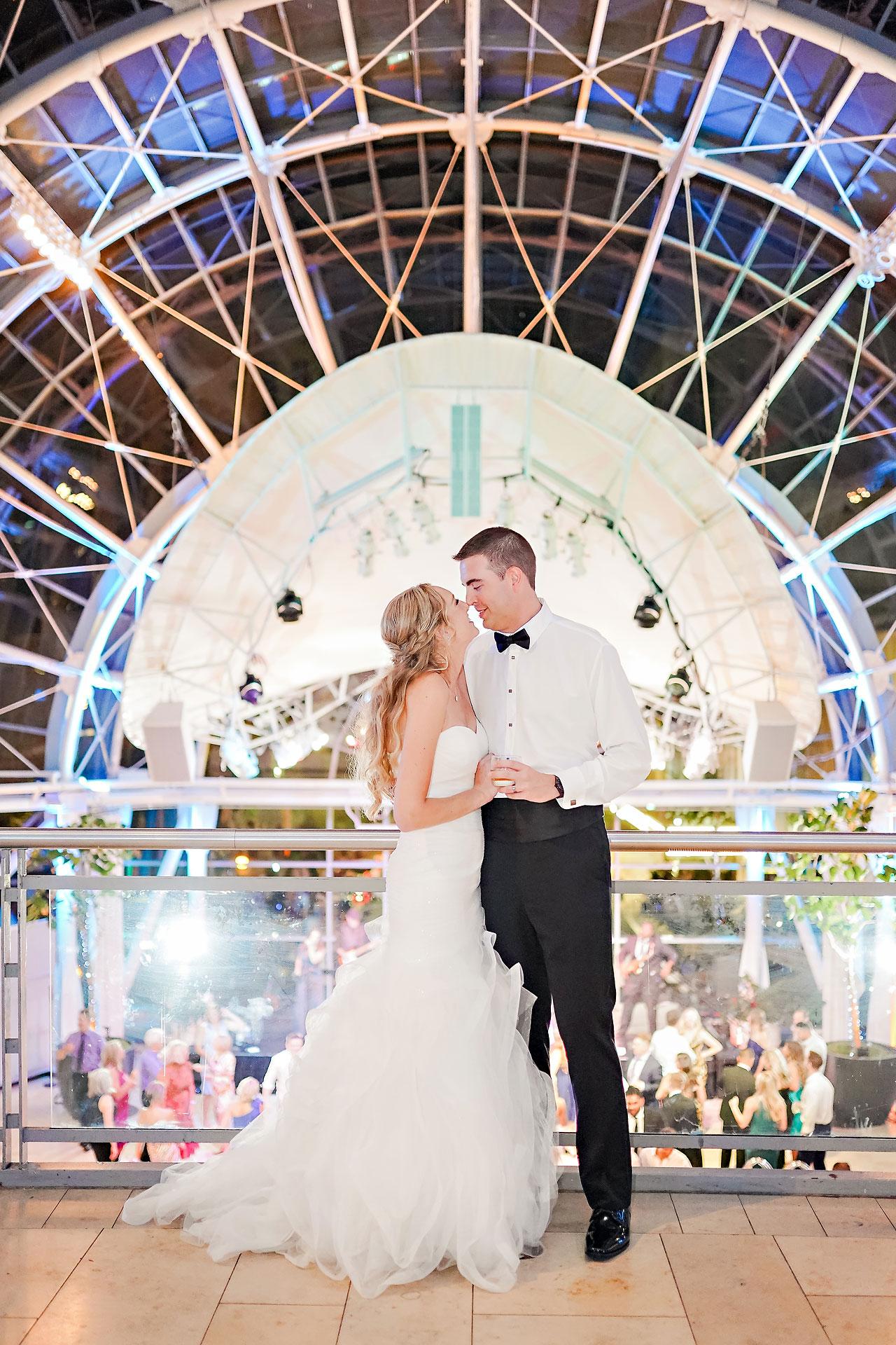 Liz Zach Conrad Artsgarden Indianapolis Wedding 298