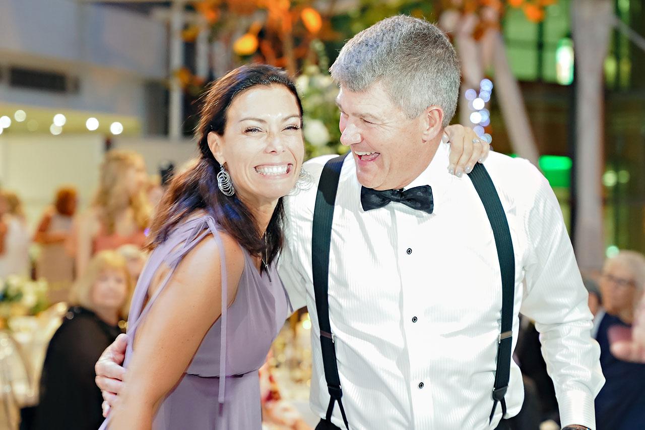 Liz Zach Conrad Artsgarden Indianapolis Wedding 306