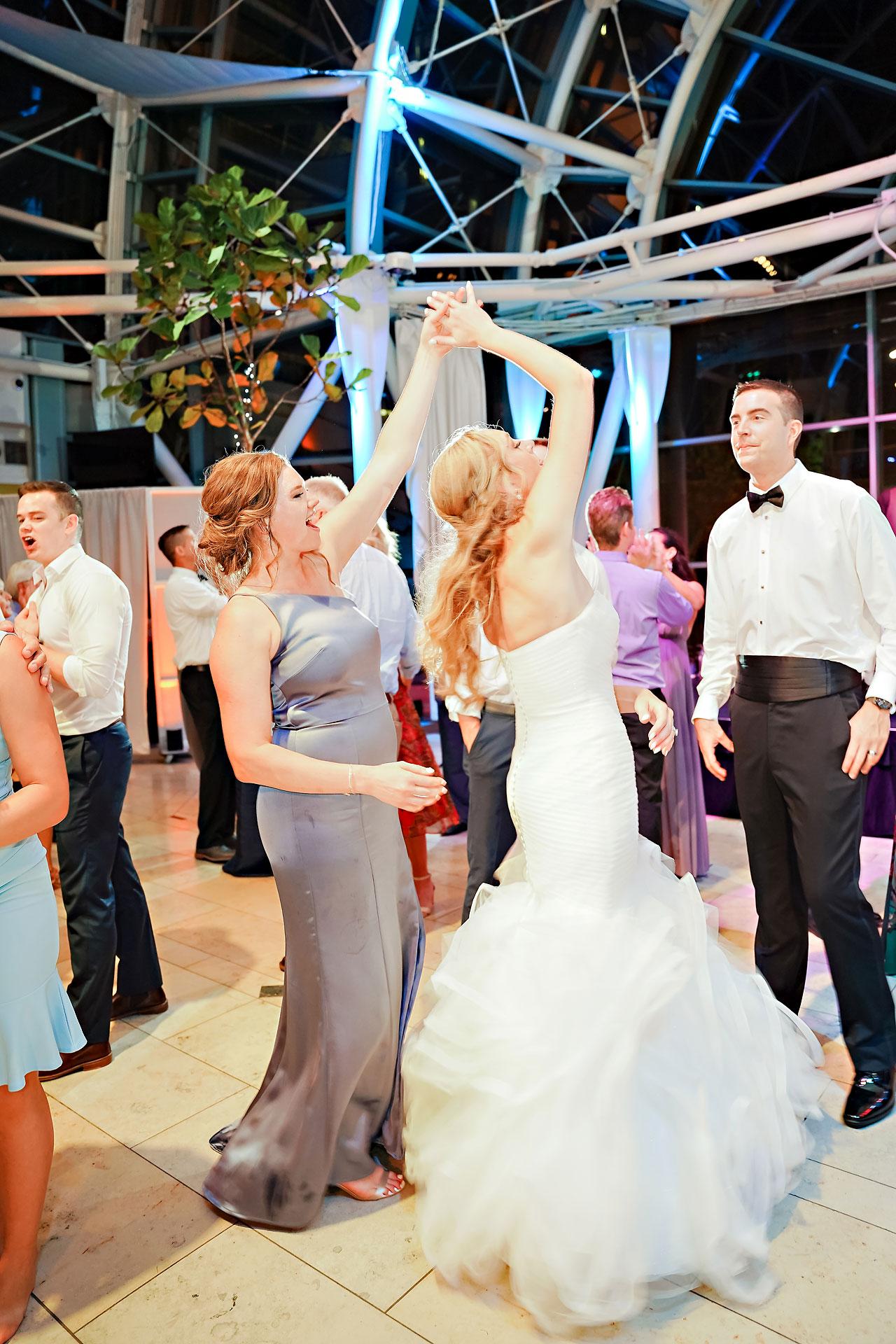 Liz Zach Conrad Artsgarden Indianapolis Wedding 309