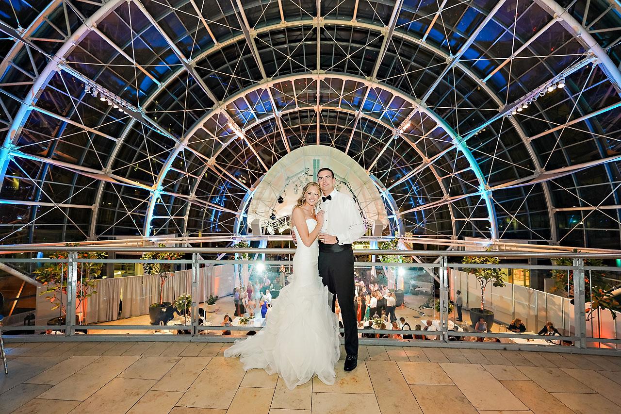 Liz Zach Conrad Artsgarden Indianapolis Wedding 313