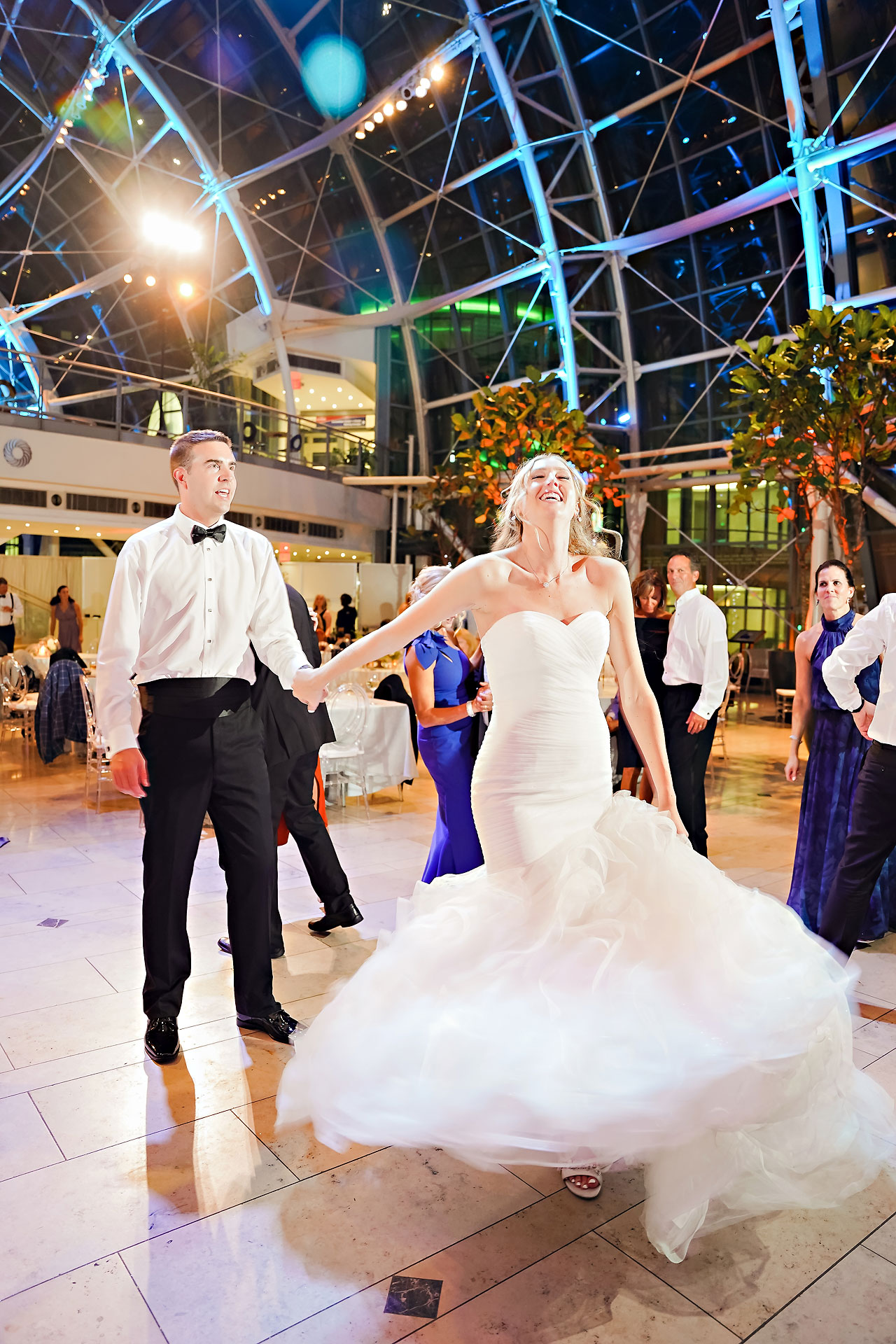 Liz Zach Conrad Artsgarden Indianapolis Wedding 318