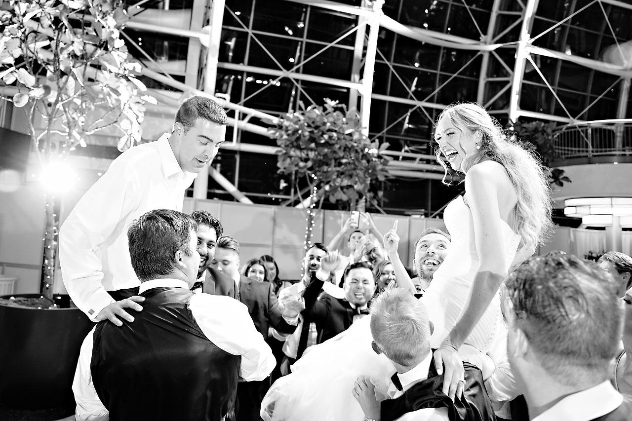 Liz Zach Conrad Artsgarden Indianapolis Wedding 326