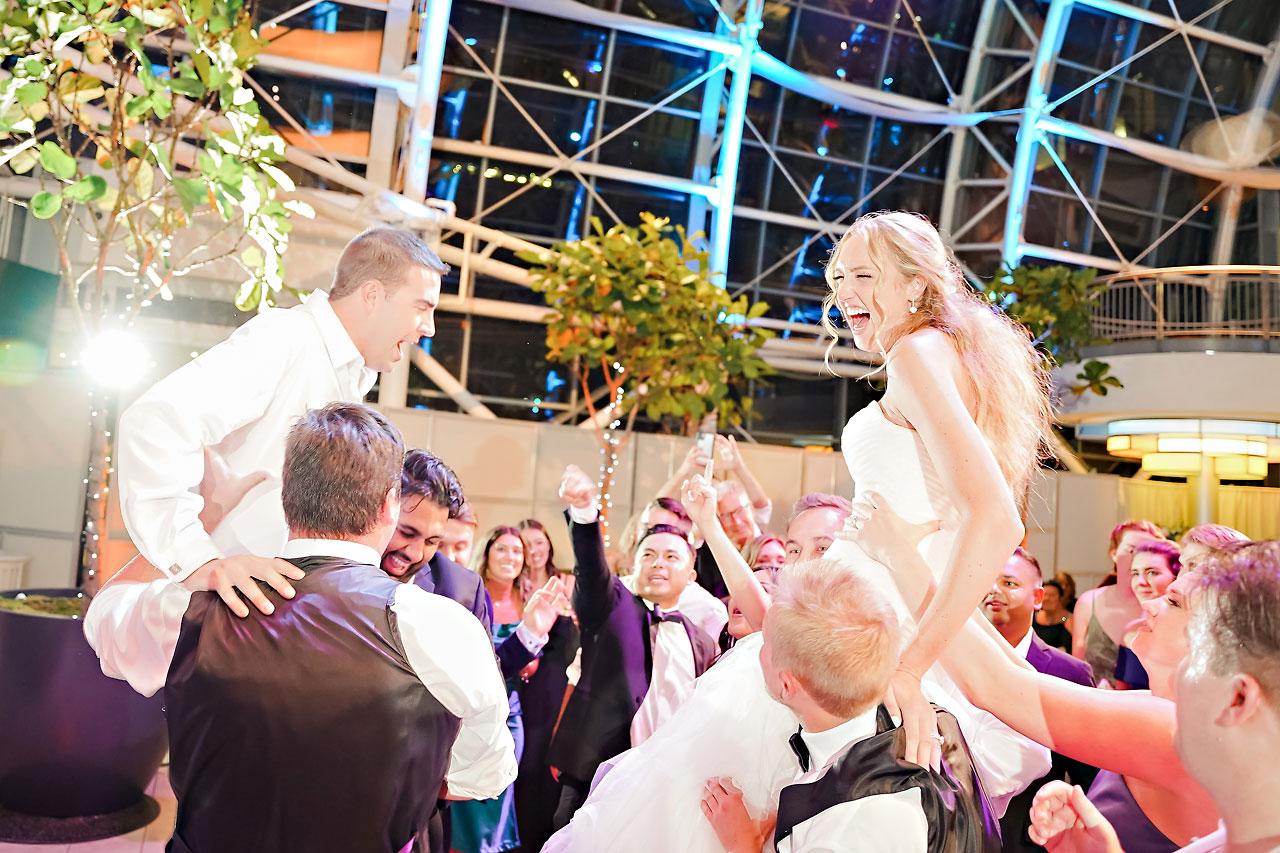 Liz Zach Conrad Artsgarden Indianapolis Wedding 328