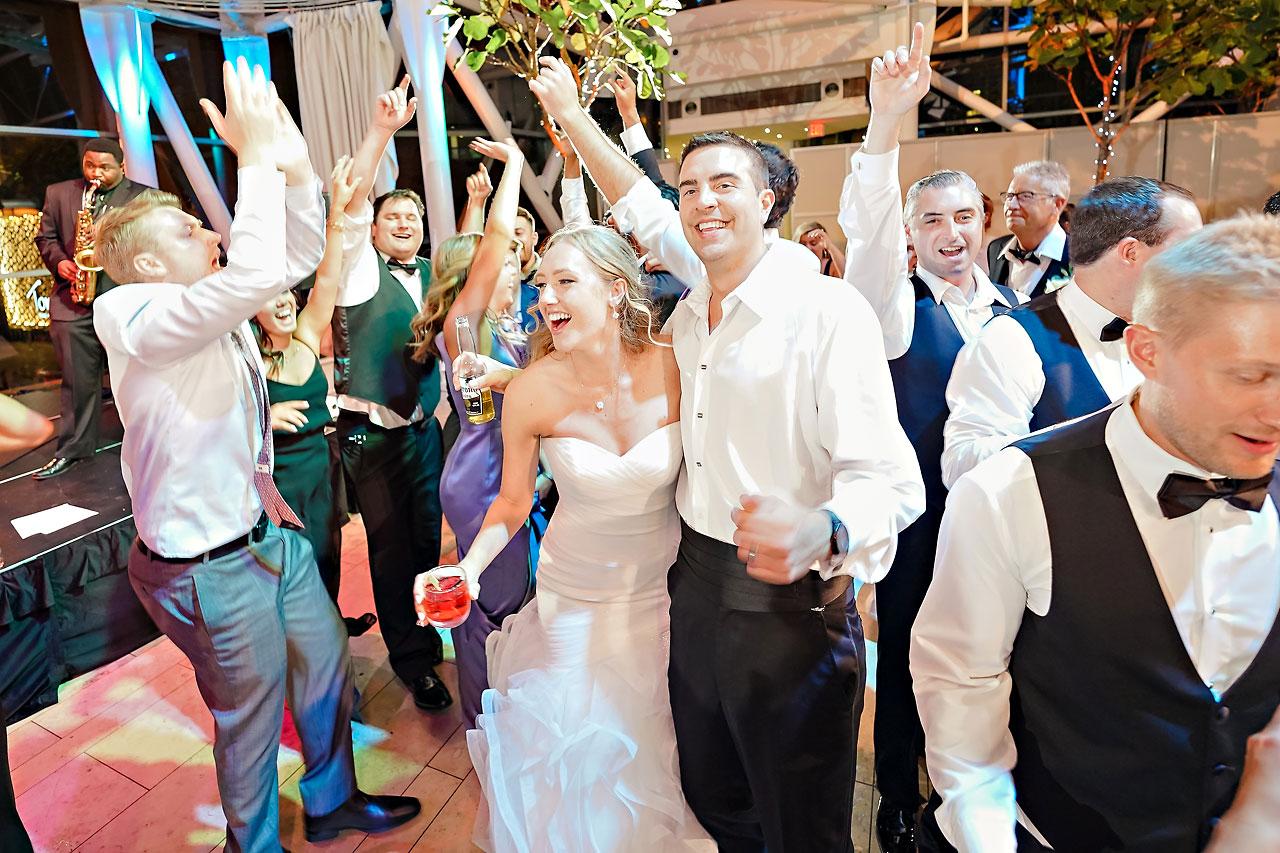 Liz Zach Conrad Artsgarden Indianapolis Wedding 330
